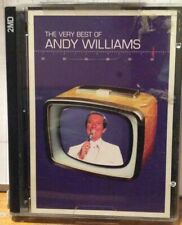 Andy Williams The Best Of Minidisc MD Minidisk Double Disc