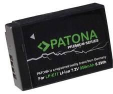 Batteria PATONA Premium Canon LP-E17 950mAh per M3 M5 M6 200D 750D 760D 77D