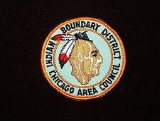 BOY SCOUT  INDIAN BOUNDARY DIST  60'S  PP  CHICAGO A.C.   ILL