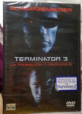 dvd PRECINTADO de TERMINATOR 3 La rebelión de las máquinas