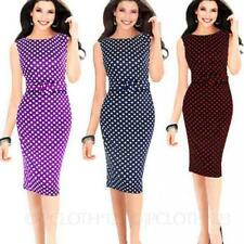 Stretch Spotted Dresses for Women