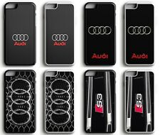 Audi German Car S Line S3 Sport Logo Rubber Phone Case Cover for iPhone /Samsung