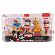 New! Disney Mickey Mouse 5 pc Collectible Figurine Set