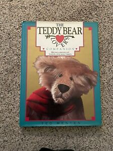 Vintage The Teddy Bear Lover's Companion by Ted Menten  Hardcover