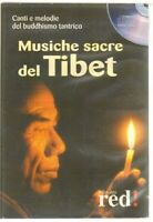MUSICHE SACRE DEL TIBET CD Audio ed. Red