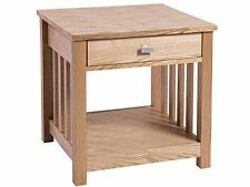 Antique Style Square Side & End Tables with Flat Pack