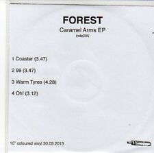 (EQ349) Forest, Caramel Arms EP - 2013 DJ CD