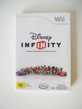 """Wii """"Disney - Infinity"""" Video Game. Great Condition! Bargain Price!"""