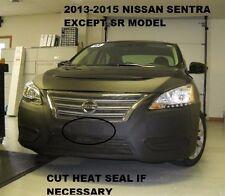 Lebra Front End Mask Cover Bra Fits 2013-2015 Nissan Sentra (Except SR)