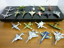 20 Diecast Military Jets Planes Helicopters Lot Maisto Matchbox