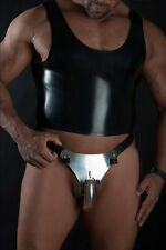 New chastity belt and accessories Mens hybrid chastity belt