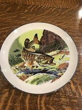 Collector Plate Fishing Smallmouth Bass