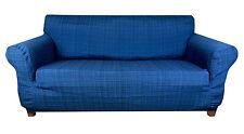 Elastic Slip Sofa Cover 1 2 3 seater TIFFY (BLUE)
