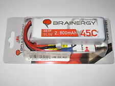 Yuki BRAINERGY 3S Lipo 11,1V 2800mAh 45c EC3 kompatibel E-flite Artikel 801046
