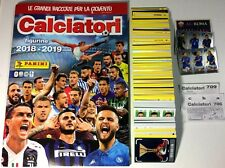CALCIATORI Panini 2018-2019 19 Album VUOTO + Set 734 Figurine-Stickers COMPLETO
