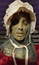 Halloween Horror Zombie Death Prop Head & Hands - Haunted House SCARY!