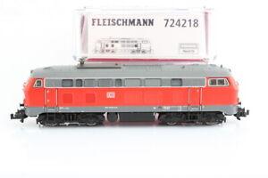 N Fleischmann 724218 DB 218 206-1 Diesellok analog rot OVP/J55