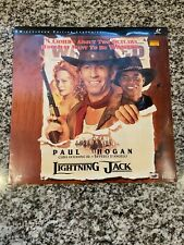"Sealed 12"" LaserDisc - Lightning Jack - Widescreen Edition Paul Hogan"