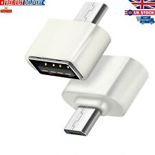 Micro USB To USB Adapter Mini OTG 5 Pin Converter For Samsung Android Adaptor UK