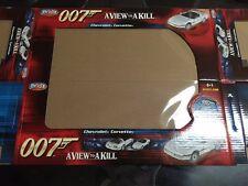 1:18 ERTL 007 A VIEW TO A KILL CHEVY CORVETTE BOX ONLY