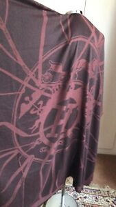 Hermes Attrape Tes Reves Silk/Cashmere Brown Colour Scarf 140 x 140cm