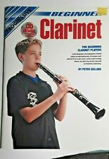 Progressive Beginner Clarinet, Book & Cd - Free Shipping