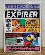 Vintage Garfield Folder MEAD Notebook 2 Pocket Folders 1978 Newspaper Comic ~ A+
