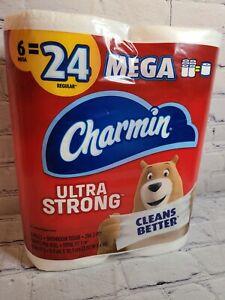 Charmin Ultra Strong Bathroom Tissue/Toilet Paper, 6 Mega Rolls 2ply 286 Sheets