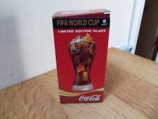 1 X FIFA WORLD CUP COCA-COLA GLASS BOXED LTD. ED. 2006 GERMANY BARGAIN LOW START