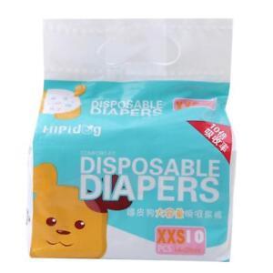 Hygienic Diaper 10Pcs Pet Diaper Pants Animal Convenient Physiological Pants HO3