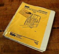 Yale 524138845 Parts Manual - USED