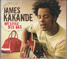 CD DIGIPACK 15T INCLUS 1T INÉDIT JAMES KAKANDE MY LITTLE RED BAG NEUF SCELLE