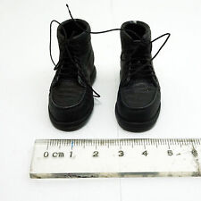 1/6 Scale HOT ZCWO - Male Black Safety Boots Hollow Mens Hommes Vol.009 TOYS