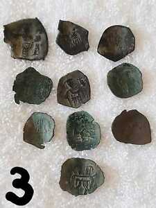 Lot 3---10 Ancient Byzantine coins