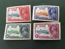 Mint Hinged Pre-Decimal 4 British Colony & Territory Stamps