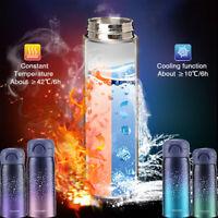 Coffee Travel Mug Tea Stainless Steel Vacuum Flask Water Bottle Cup Thermos US