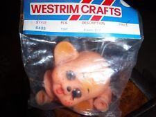 Westrim Crafts Doll Monkey Head,hands & feet Sealed