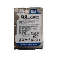 """Western Digital 320GB WD3200BPVT 5400RPM 8MB SATA 2.5"""" Laptop HDD Hard Drive"""