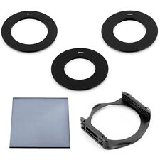 49/55/58MM ADAPTER RINGS + FULL ND2 FILTER+ P-HOLDER FOR COKIN P SERIES System