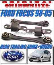 FITS FORD FOCUS 98-05 MKI REAR TRAILING ARMS & REAR SUSPENSION BUSH KIT