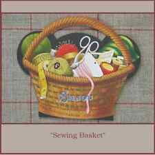 "Sajou Vintage Replica  Needle Card  ""Sewing Basket"""