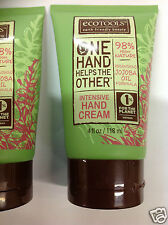 ( LOT OF 4 ) EcoTools Hand Cream (Intensive) One Hand Helps The Other, 4 oz NEW.