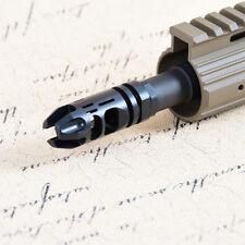 Precision Epsilon Compensator .223 1/2x28 Thread Muzzle Brake with Jam Nut