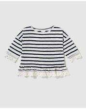 T-shirts et débardeurs à motif Rayé pour fille de 2 à 16 ans en 100% coton, 12 - 13 ans