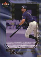 2002 Ultra Hitting Machines #23 Todd Helton