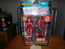 MARVEL LEGENDS SCARLET WITCH, LEGENDARY RIDER SERIES, NIP, 2005
