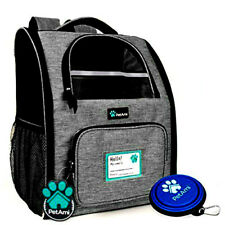 PetAmi Deluxe Pet Carrier Backpack for Small Cats and Dogs, Puppies   Ventilated