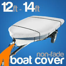 Heavy-Duty, Marine Grade 12ft-14ft Trailerable Boat Cover open boat tinnie