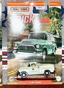 Matchbox 57 GMC STEP SIDE 2021 New Release Truck Series