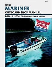 Clymer Mercury Outboard Work Shop Repair Manual 2-220 HP 1976-1989 SERVICE BOOK